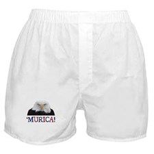 Murica! Bald Eagle Boxer Shorts