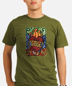Blessed Flaming Heart T-Shirt
