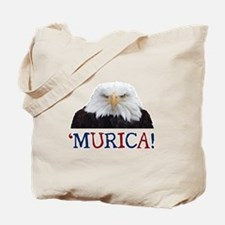 Murica! Bald Eagle Tote Bag