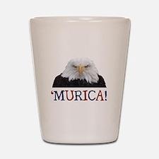 Murica! Bald Eagle Shot Glass
