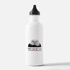 Murica! Bald Eagle Water Bottle
