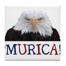 Murica! Bald Eagle Tile Coaster