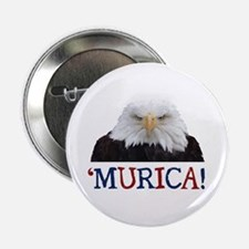 """Murica! Bald Eagle 2.25"""" Button (10 pack)"""