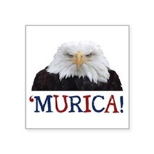 Murica! Bald Eagle Sticker