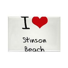 I Love STINSON BEACH Rectangle Magnet