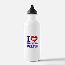 I love my Filipino Wife Water Bottle