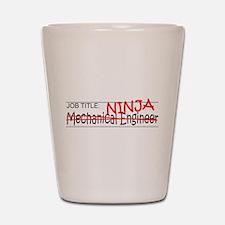 Job Ninja Mech Eng Shot Glass