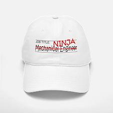 Job Ninja Mech Eng Baseball Baseball Cap