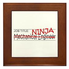 Job Ninja Mech Eng Framed Tile