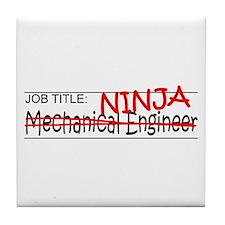 Job Ninja Mech Eng Tile Coaster