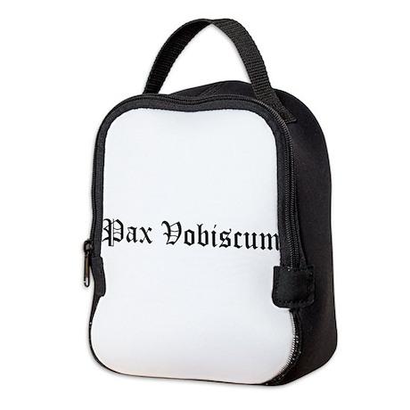 Pax Vobiscum Neoprene Lunch Bag