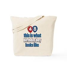 48 year old birthday boy Tote Bag