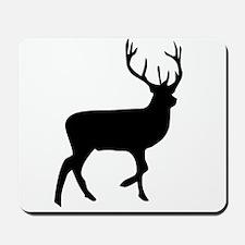 Black Elk Silhouette Mousepad