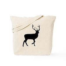 Black Elk Silhouette Tote Bag