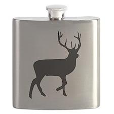 Black Elk Silhouette Flask
