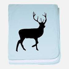 Black Elk Silhouette baby blanket