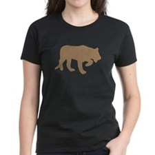 Brown Panther Silhouette T-Shirt