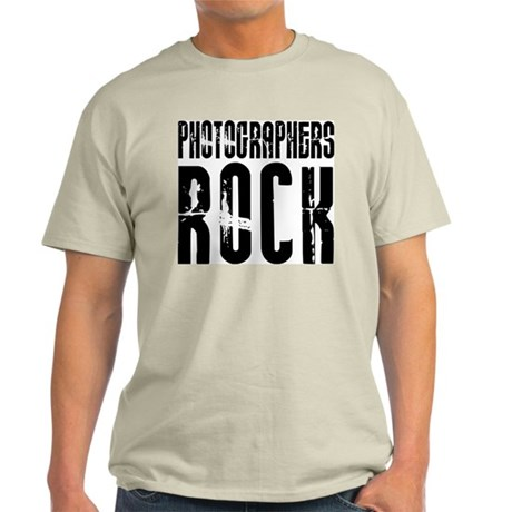 Photographers Rock Ash Grey T-Shirt