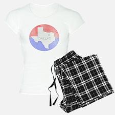 Vintage Dallas Flag Pajamas