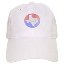 Vintage Dallas Flag Baseball Baseball Cap