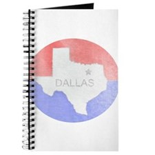 Vintage Dallas Flag Journal