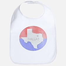 Vintage Dallas Flag Bib