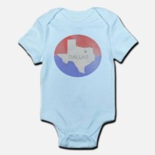 Vintage Dallas Flag Body Suit