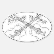 Austin Texas Guitars Decal