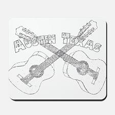 Austin Texas Guitars Mousepad