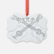Texas Guitars Ornament