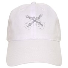Texas Guitars Baseball Baseball Cap