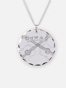 Texas Guitars Necklace