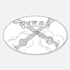 Texas Guitars Decal