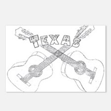 Texas Guitars Postcards (Package of 8)