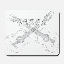 Texas Guitars Mousepad