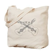 Texas Guitars Tote Bag