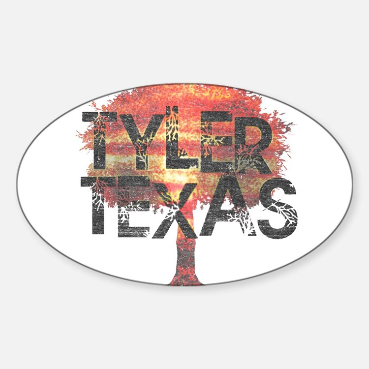 Tyler Texas Tree Decal