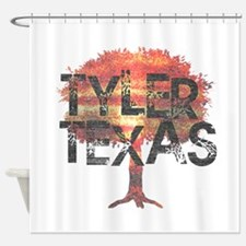 Tyler Texas Tree Shower Curtain