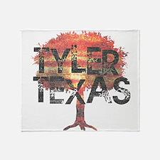 Tyler Texas Tree Throw Blanket