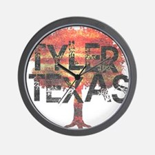 Tyler Texas Tree Wall Clock