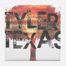 Tyler Texas Tree Tile Coaster