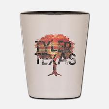 Tyler Texas Tree Shot Glass