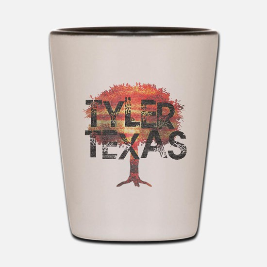 Tyler Texas Tree Shot Glass
