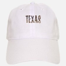 Texas Coffee and Stars Baseball Baseball Baseball Cap