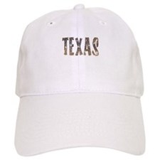 Texas Coffee and Stars Baseball Baseball Cap