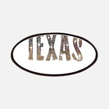 Texas Coffee and Stars Patches