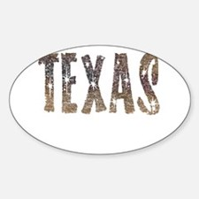 Texas Coffee and Stars Decal