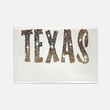 Texas Coffee and Stars Rectangle Magnet