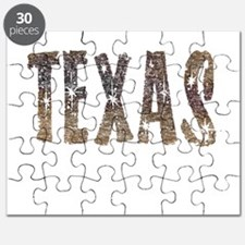 Texas Coffee and Stars Puzzle