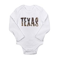 Texas Coffee and Stars Body Suit